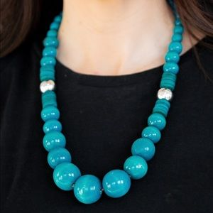 Panama Pandrama blue necklace